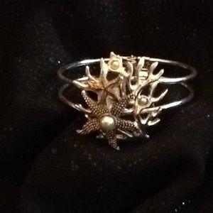 Jewelry - Beautiful sea life cuff bracelet